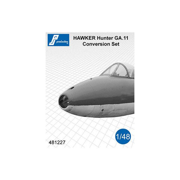 PJ Production 481227 1/48 Hawker Hunter GA.11 Conversion Set - SGS Model Store