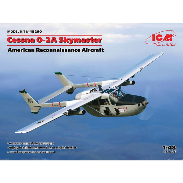 ICM 48290 1/48 Cessna O-2A Skymaster American Reconnaissance Aircraft