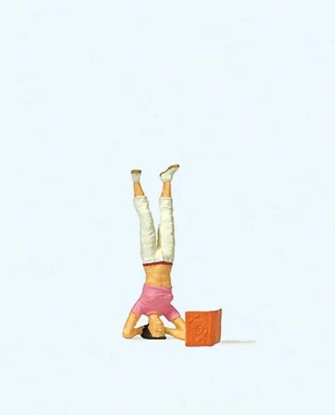 Preiser 29090 H0 Scale Headstand Model Railway Figure