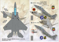 Print Scale 72-030 1/72 McDonnell F-15E Strike Eagle 'Never Forget' Model Decals