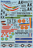 Print Scale 72-055 1/72 Douglas Skyraider Model Decals