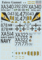 Print Scale 72-069 1/72 Fairey Gannet Model Decals