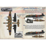 Print Scale 72-398 1/72 Handley-Page Halifax Part 1 Decals
