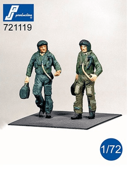 PJ Production 721119 1/72 Modern RAF Pilots Standing Resin Figures - SGS Model Store