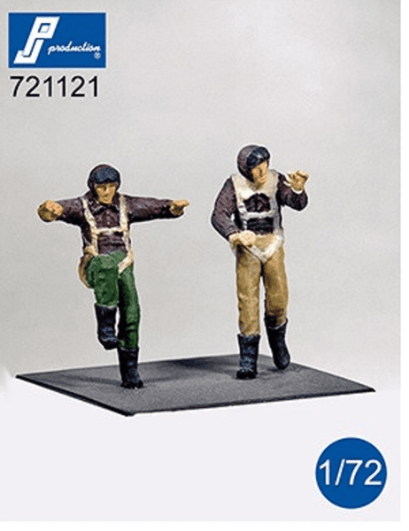 PJ Production 721121 1/72 US pilots WWII Standing Resin Figures - SGS Model Store