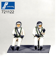 PJ Production 721122 1/72 French high altitude pilots (60's) Resin Figures - SGS Model Store