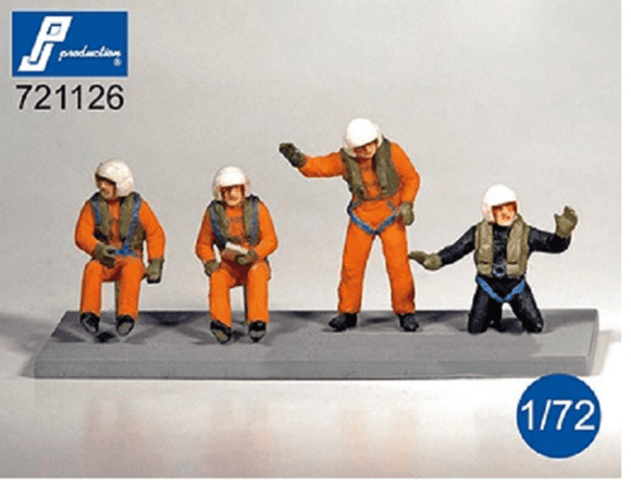 PJ Production 721126 1/72 SAR Helicopter Crew Resin Figures - SGS Model Store
