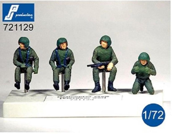 PJ Production 721129 1/72 US helicopter crew (Vietnam war) Resin Figures - SGS Model Store