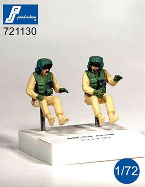 PJ Production 721130 1/72 AH-64 Helicopter crew Resin Figures - SGS Model Store