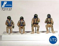 "PJ Production 721137 1/72 UH-60 ""Black Hawk"" Crew Resin Figures - SGS Model Store"