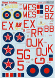 Print Scale 72-133 1/72 Short Stirling Model Decals