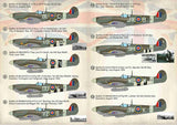 Print Scale 72-382 1/72 Spitfire Aces of Northwest Europe 1944-45 Decals