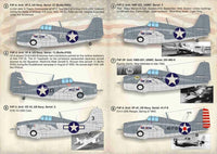 Print Scale 72-384 1/72 Gruman F4F Wildcat Model Decals