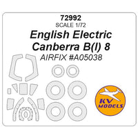 KV Models 72992 1/72 English Electric Canberra B(I).8 for Airfix