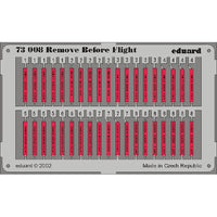 Eduard 73008 1/72 Remove Before Flight Tags