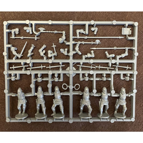 Perry Miniatures 28mm English Agincourt Foot Knights 1415-1429 Sprue