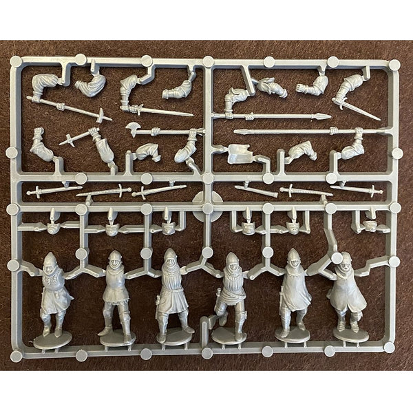 Perry Miniatures 28mm French Agincourt Foot Knights 1415-1429 Sprue