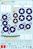 BarracudaStudios BC48001 1/48 P-47 Thunderbolts Part 1 Decals