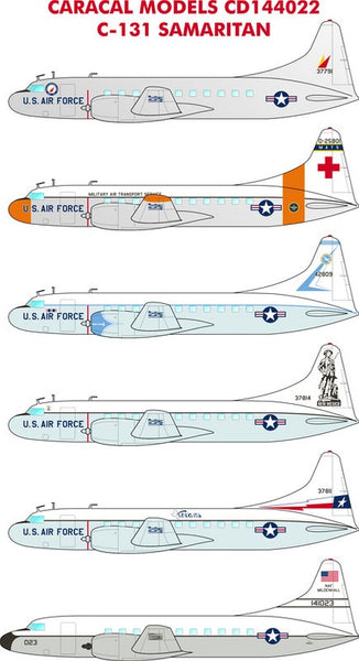 Caracal Models CD144022 1/144 C-131 Samaritan Decals