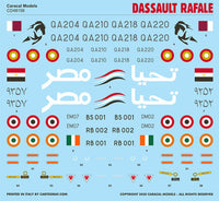 Caracal Models CD48156 1/48 Dassault Rafale Decals