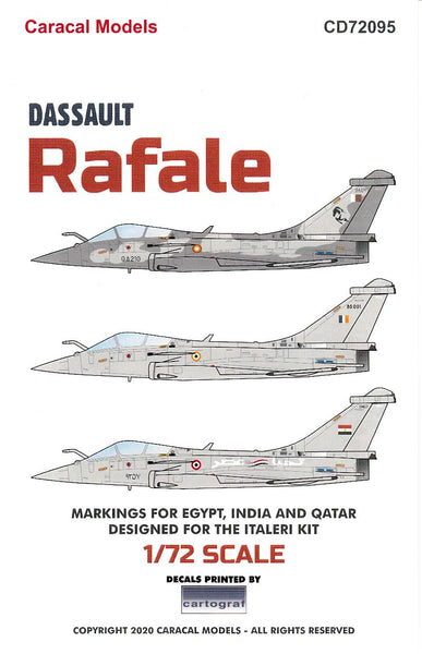 Caracal Models CD72095 1/72 Dassault Rafale