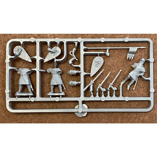 Conquest Games Norman Infantry Command Sprue 28mm