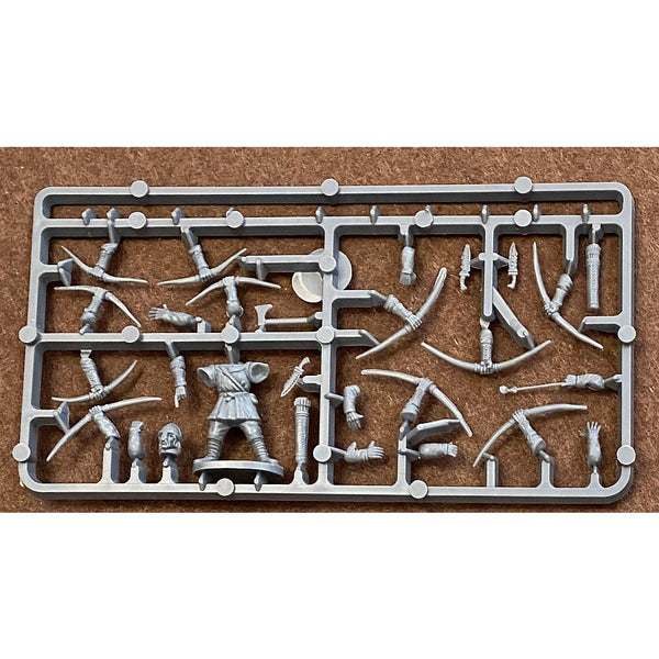 Conquest Games Medieval Archers Accessories (Weapons) Sprue 28mm