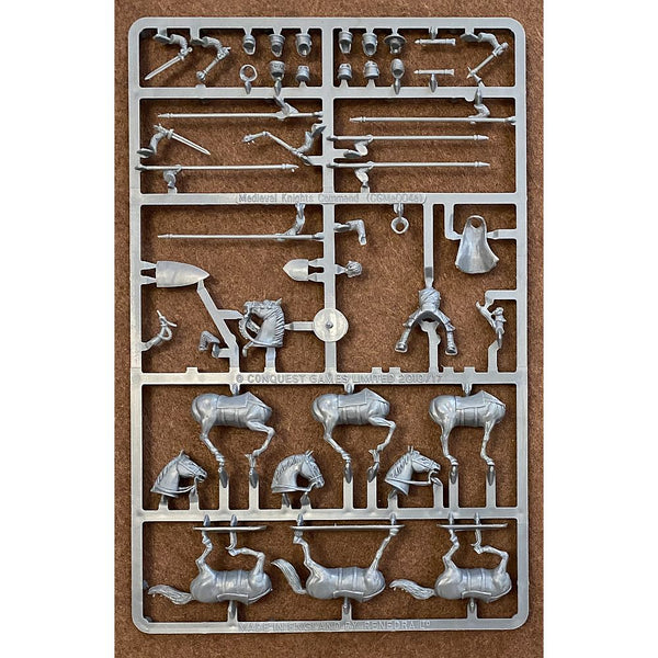 Conquest Games Medieval Knights Command Sprue 28mm