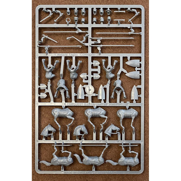 Conquest Games Medieval Knights Sprue 28mm