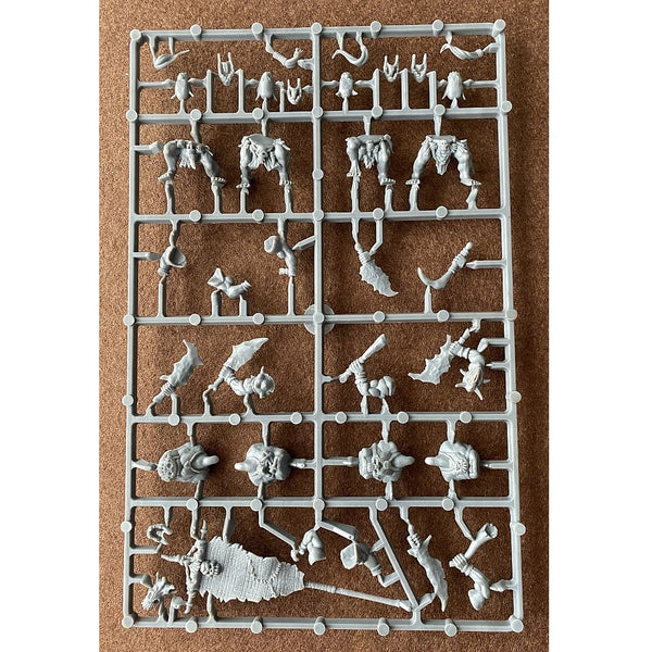 Shieldwolf Miniatures 28mm Mountain Orcs Infantry Command Sprue