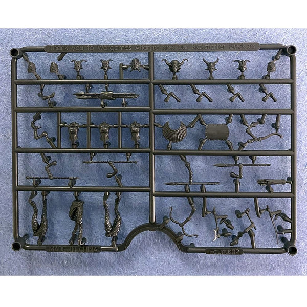 RGD Gaming Female Fauns Sprue 28mm