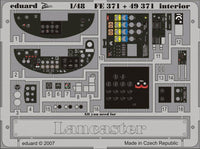 Eduard FE371 1/48 Avro Lancaster B.I/III interior Photo Etched Set for Tamiya - SGS Model Store