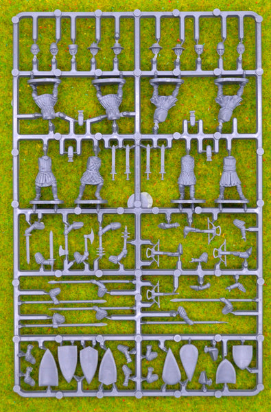 Fireforge Games Foot Sergeants 1/56 (28mm) Sprue