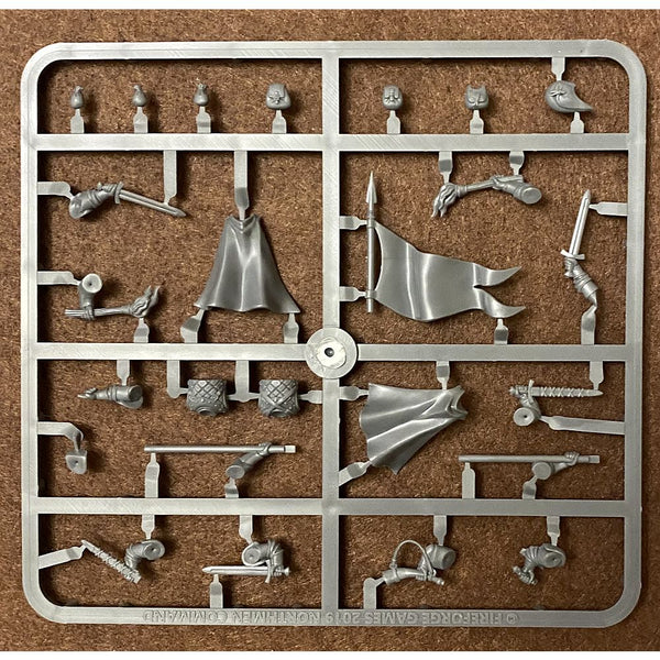 Fireforge Games Forgotten World 28mm Northmen Cavalry Command Sprue