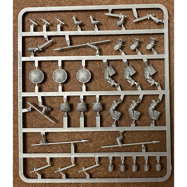 Fireforge Games Forgotten World 28mm Northmen Cavalry Horsemen Sprue