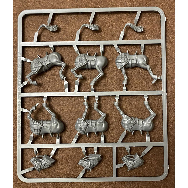 Fireforge Games Forgotten World 28mm Northmen Cavalry Horses Sprue