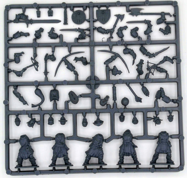 Frostgrave 1/56 (28mm) Frostgrave Soldiers Sprue - SGS Model Store