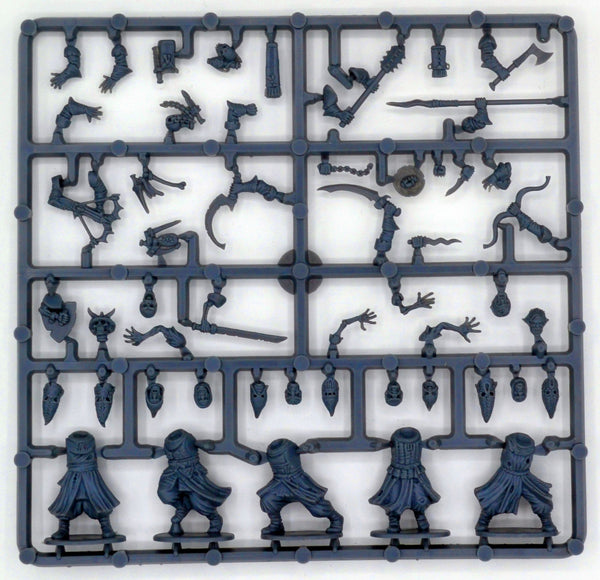Frostgrave 1/56 (28mm) Frostgrave Cultists Sprue - SGS Model Store