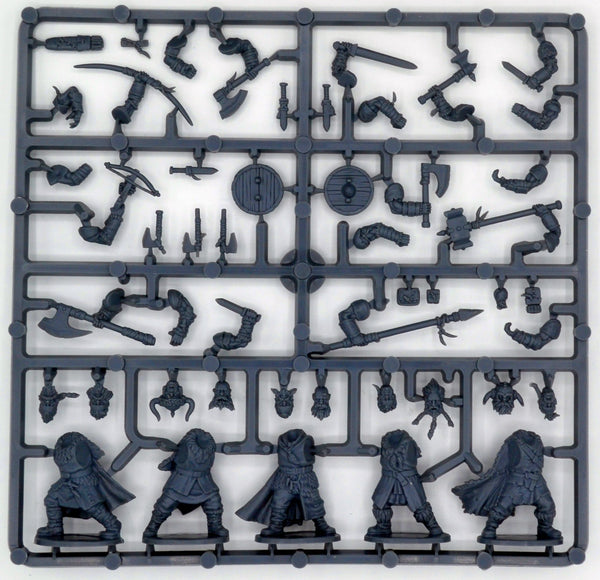 Frostgrave 1/56 (28mm) Frostgrave Barbarians Sprue - SGS Model Store