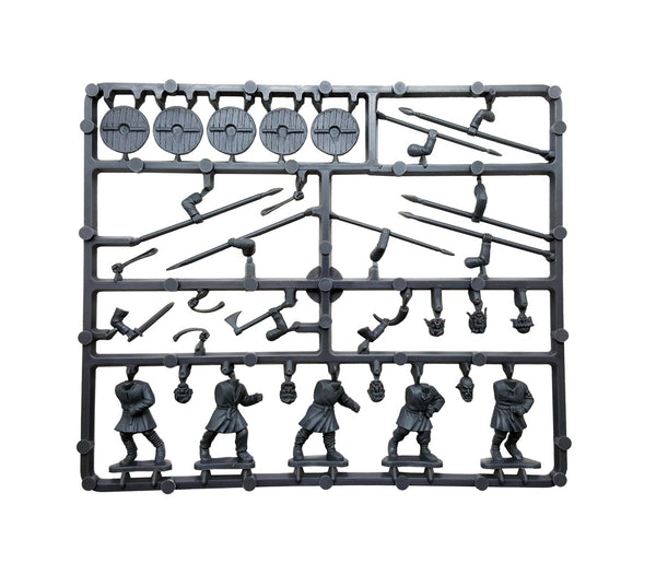 Gripping Beast 1/56 (28mm) Dark Age Warriors Sprue