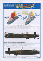 Kits-World KW132138 1/32 Avro Lancaster B Mk.VII 'Just Jane' Decals - SGS Model Store