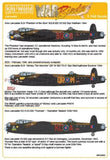 Kits-World KW144033 1/144 Avro Lancaster B.I/III Decals