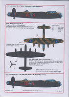 Kits-World KW148041 1/48 Avro Lancasters of 434 & 431 Squadron Decals - SGS Model Store