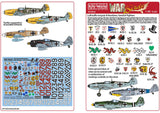 Kits-World KW148186 1/48 Luftwaffe Squadron Fighter Markings