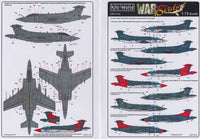 Kits-World KW172140 1/72 Blackburn Buccaneer Model Decals - SGS Model Store