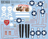 Kits-World KW172146 1/72 Douglas A-20 Havocs Model Decals - SGS Model Store