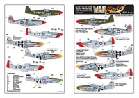 Kits-World KW172179 1/72 North-American P-51B/D Mustang Model Decals - SGS Model Store