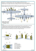 Kits-World KW132064 1/32 B17G Flying Fortress American Beauty Model Decals - SGS Model Store