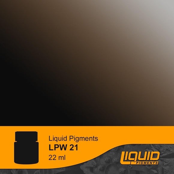 LifeColor LPW21 Liquid Pigments Smoke (22ml) - SGS Model Store