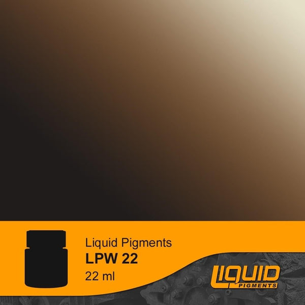 LifeColor LPW22 Liquid Pigments Carriage Grime (22ml) - SGS Model Store